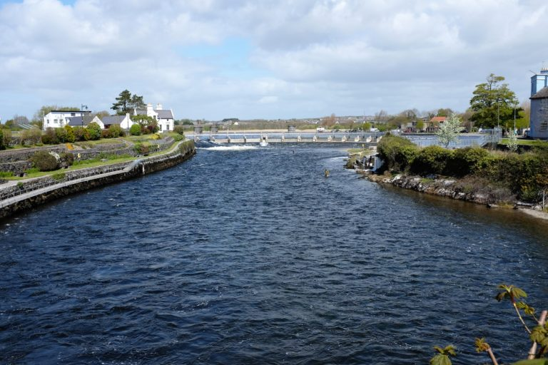 River Corrib in Galway city