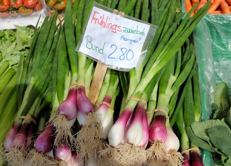 local spring onions
