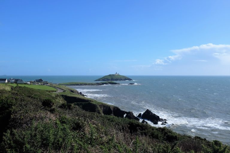 Ballycotton cliff walk on our day off