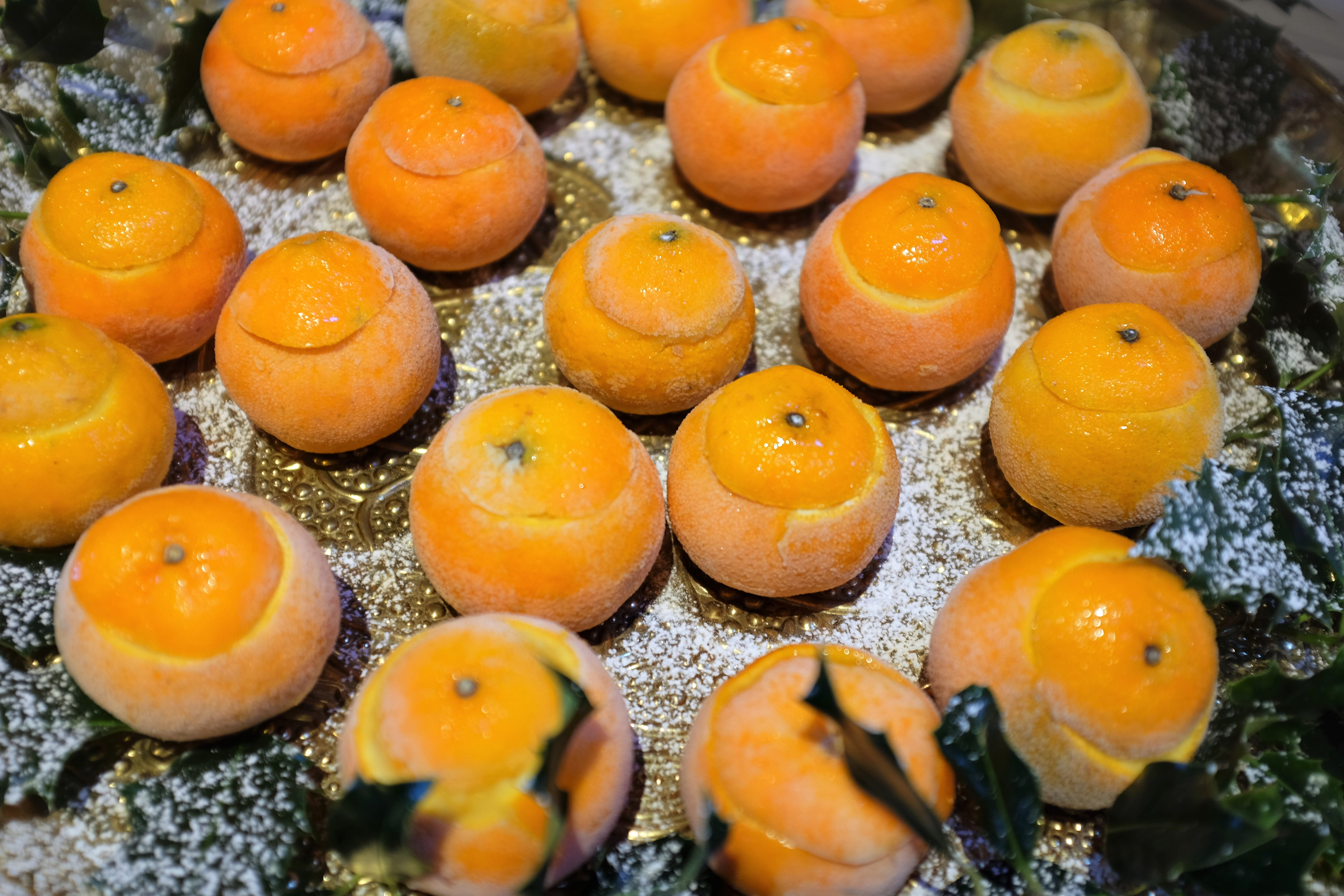 Frosted Tangerines